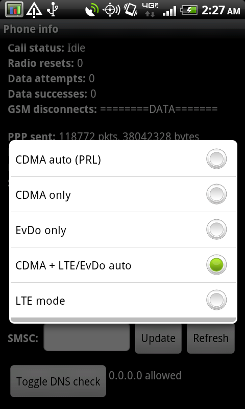 Cellular Network Performance on the Thunderbolt - HTC Thunderbolt