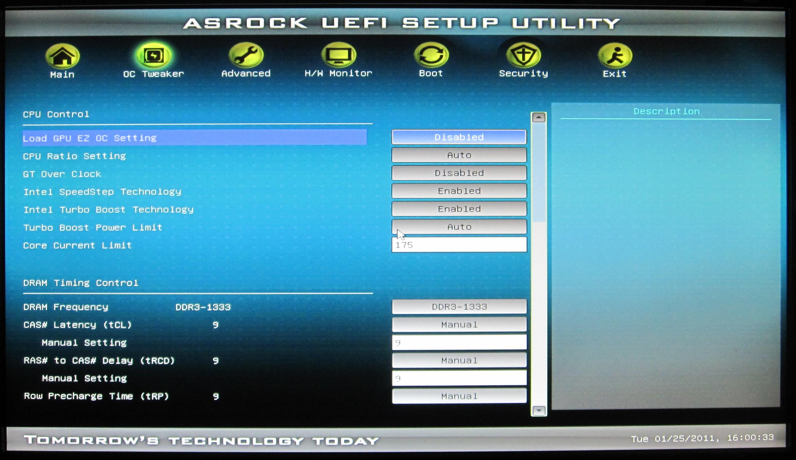 ASRock H67M-GE/HT: UEFI, Overclocking - H67 – A Triumvirate of