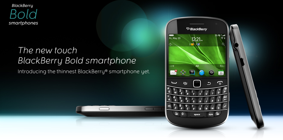 Blackberry Bold Touch And 7 Os Headline