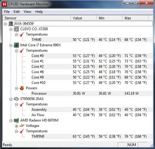 cores are running hot during idle how to fix