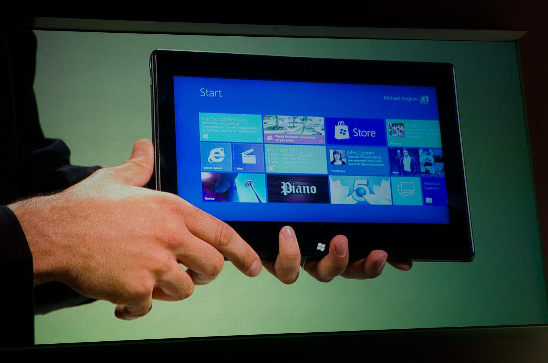 Windows 8 Running on ARM, NVIDIA Kal-El Notebook Demoed