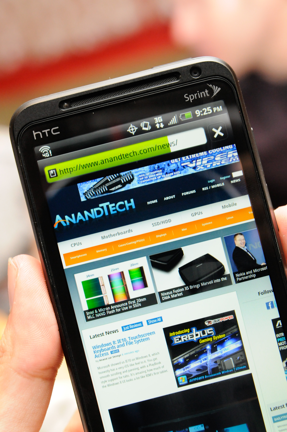 Hands on and Benchmarks of two MSM8x60 Phones - HTC Sensation 4G and