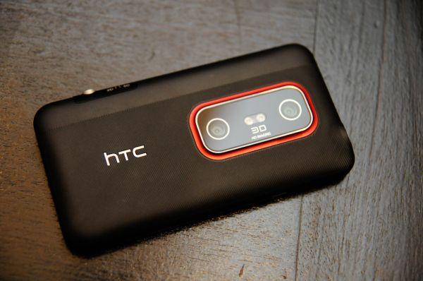 Thiết kế phần cứng của HTC Evo 3G có nhiều điểm mới