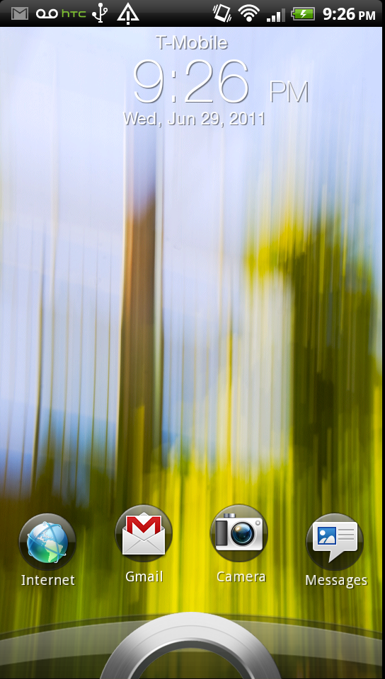 Software: Android 2 3 3 and HTC Sense 3 0 - HTC Sensation 4G Review
