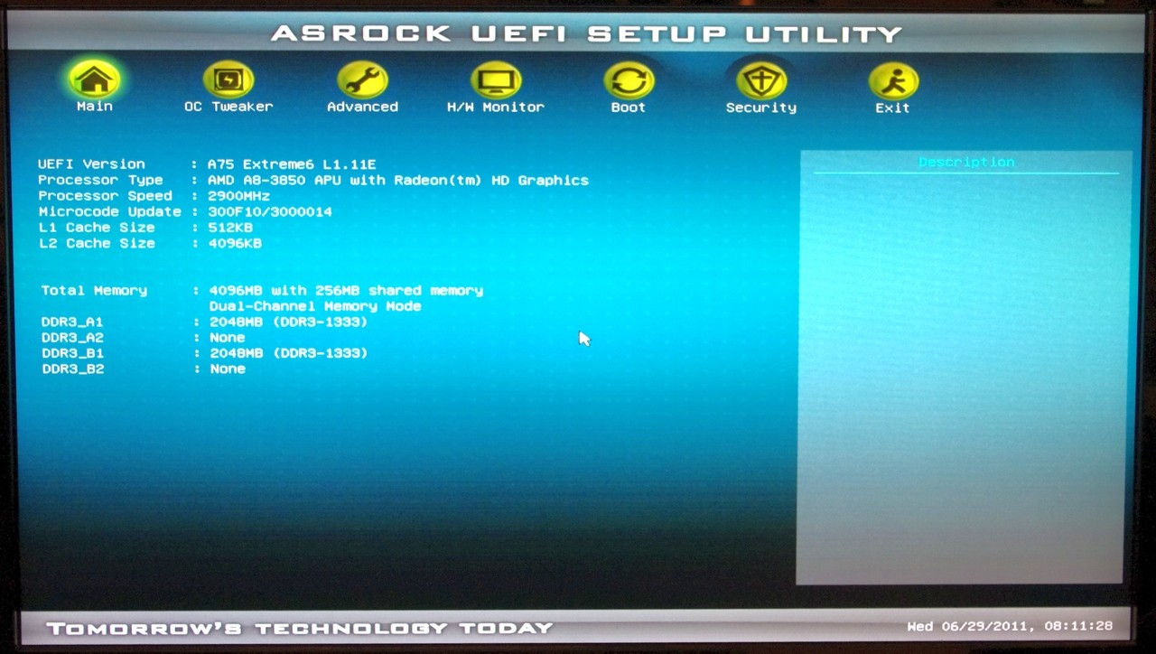 ASROCK A75 EXTREME6 BOOT DRIVERS PC