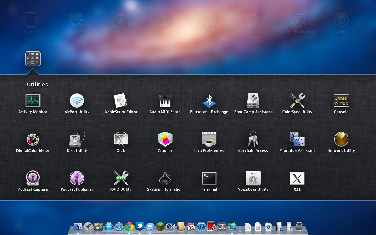 Using Docks and Launchpad Mac 2011-2012 - YouTube