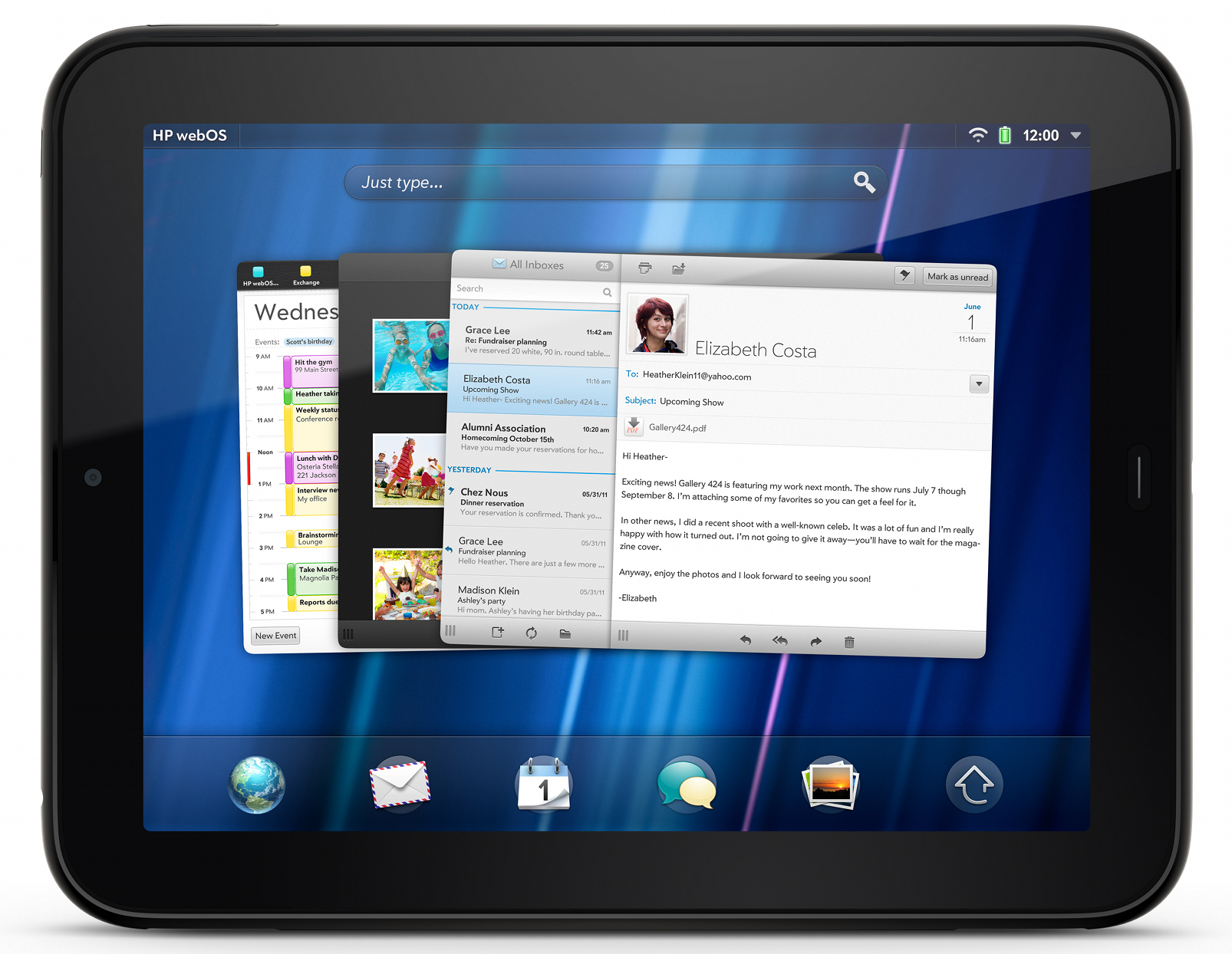 hp touchpad 4g coming to at t rh anandtech com HP TouchPad Tablet HP TouchPad Mouse