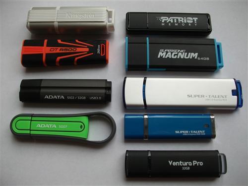 Тест девяти USB 3.0 / USB 2.0 флешек