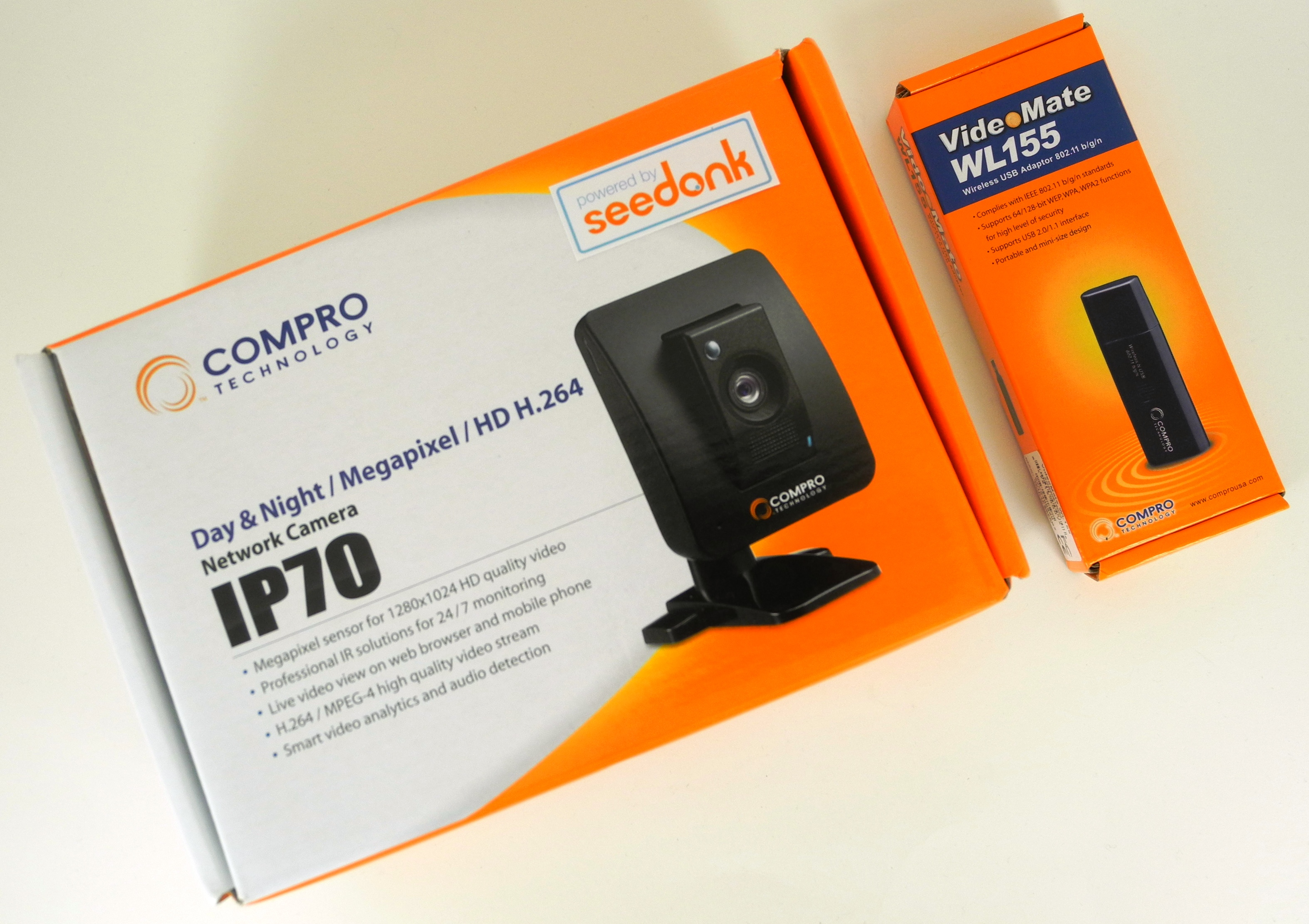 Unboxing the Compro IP 70 - Compro IP 70 Network Camera Review