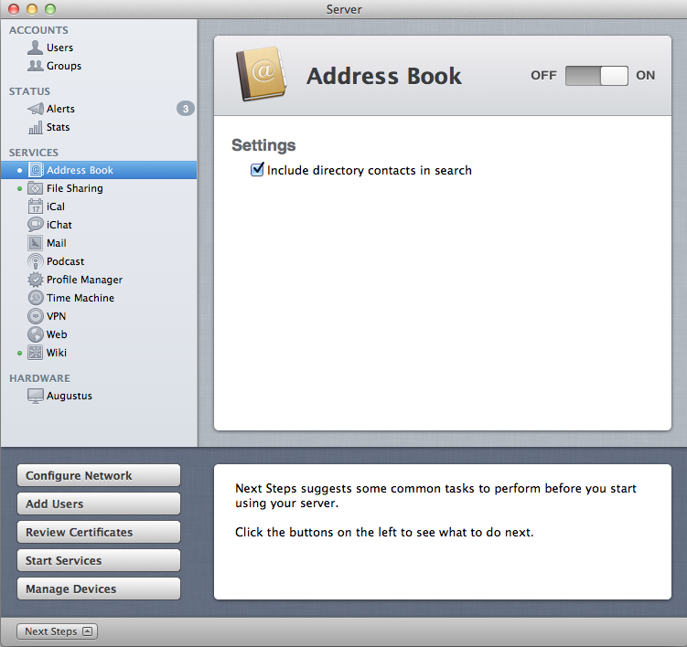 Address Book iCal iChat and Mail InDepth with Mac OS X Lion – Address Book Example