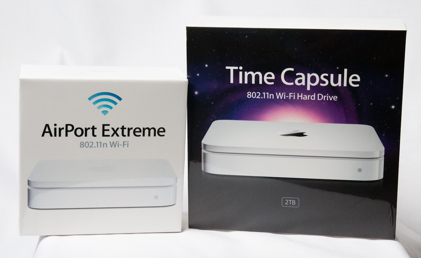 airport extreme 5th gen and time capsule 4th gen review faster