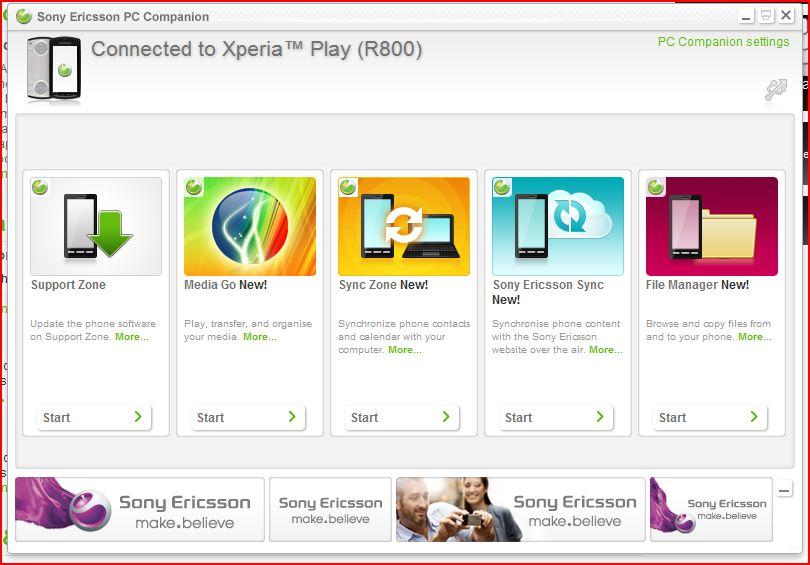 Программа Pc Companion Для Sony Xperia - фото 9