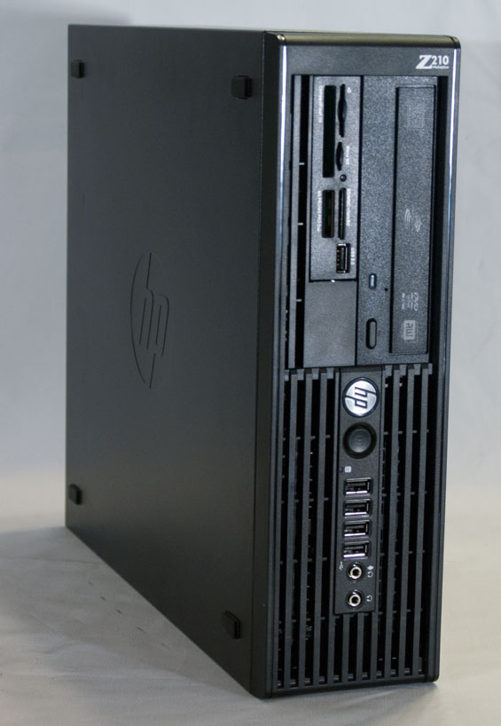 HP Z210 SFF Workstation: Serious Power in Cramped Quarters
