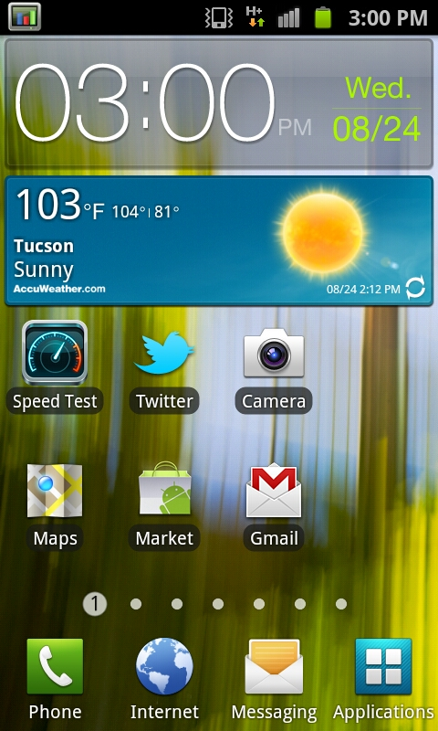 Software - Android 2 3 3 and TouchWiz 4 0 - Samsung Galaxy S