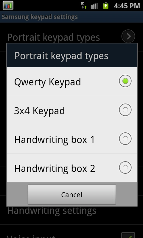 Keyboards, Messaging, and a Smooth Browser - Samsung Galaxy