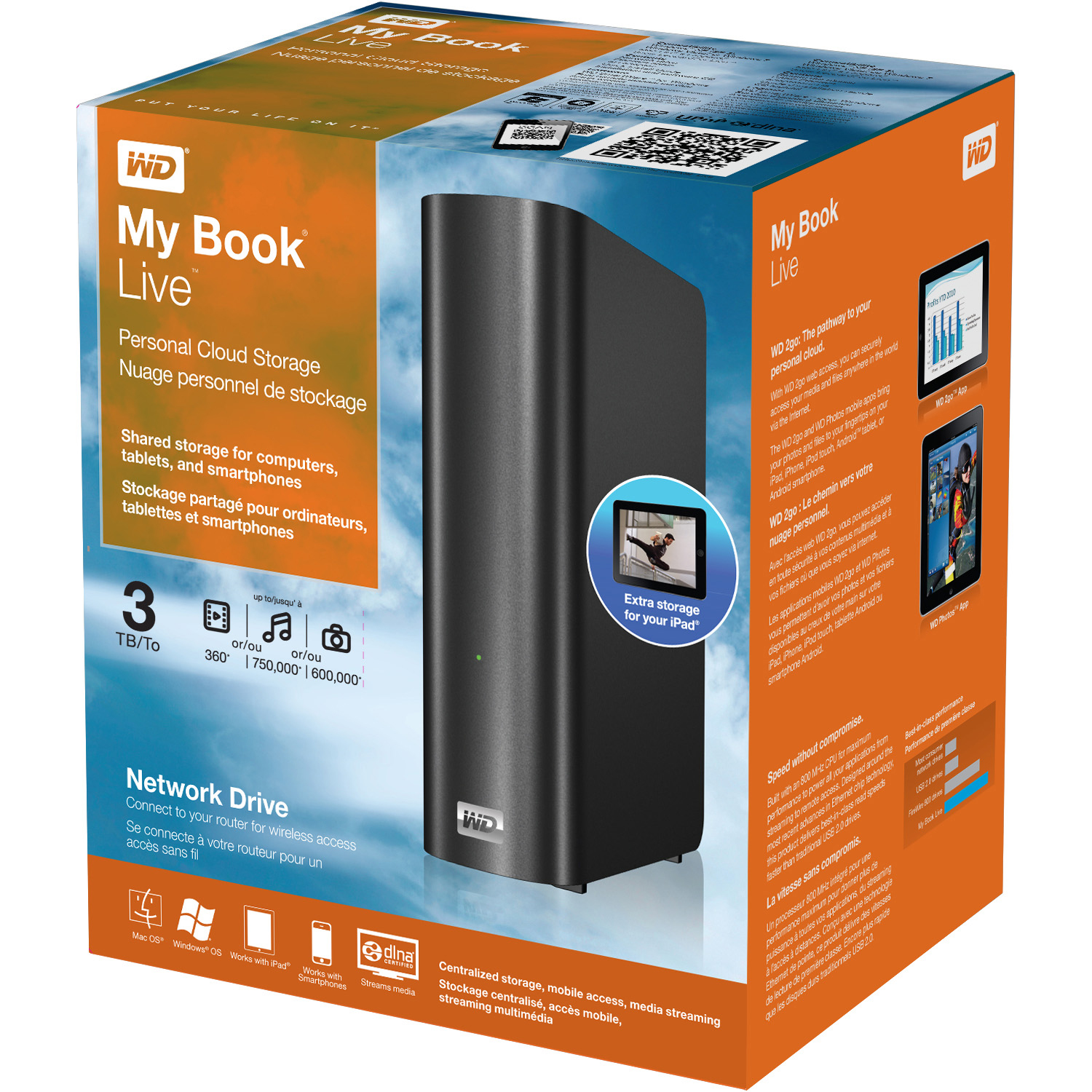 WD MY BOOK LIVE PERSONAL CLOUD STORAGE TREIBER