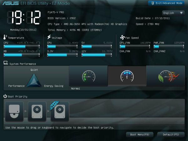 Asus F1A75-V PRO AMD AHCI/RAID Drivers Mac