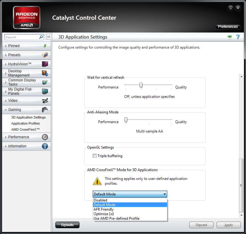 AMD Releases Catalyst 12 1 Preview – Custom Application