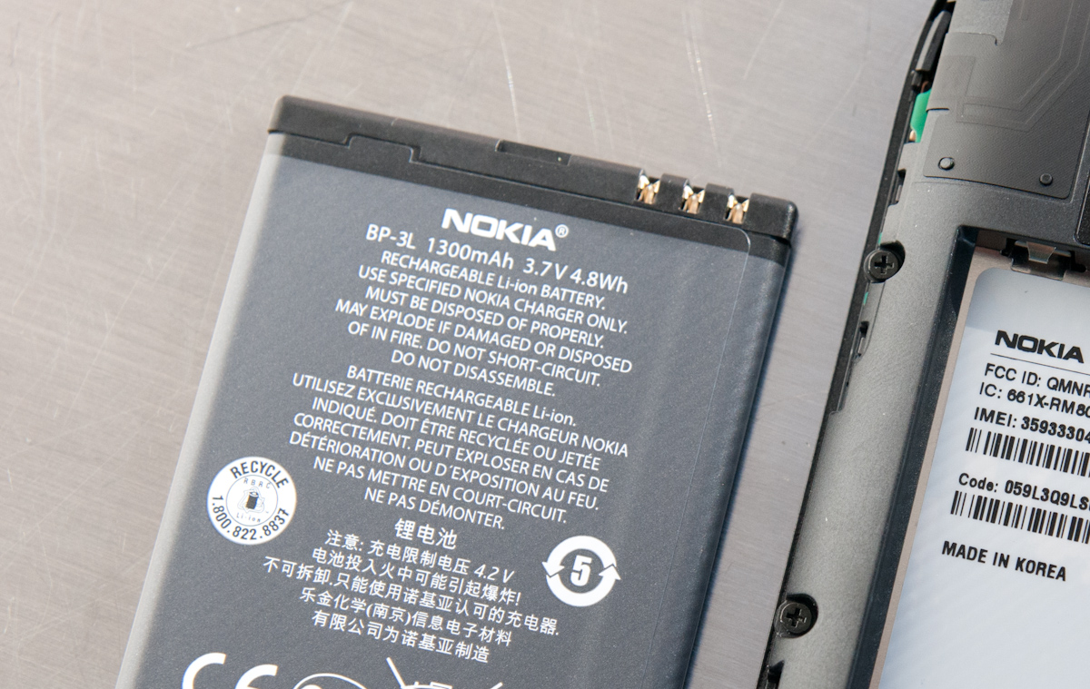 Nokia Lumia 710 Battery Issues