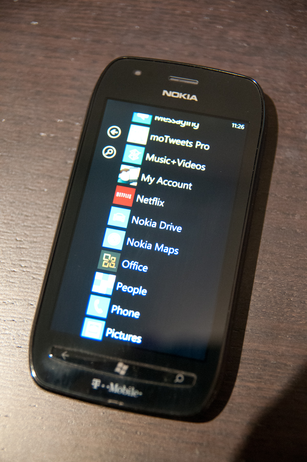 lumia 710 apps and preload nokia lumia 710 review t mobile 39 s nokia wp7. Black Bedroom Furniture Sets. Home Design Ideas