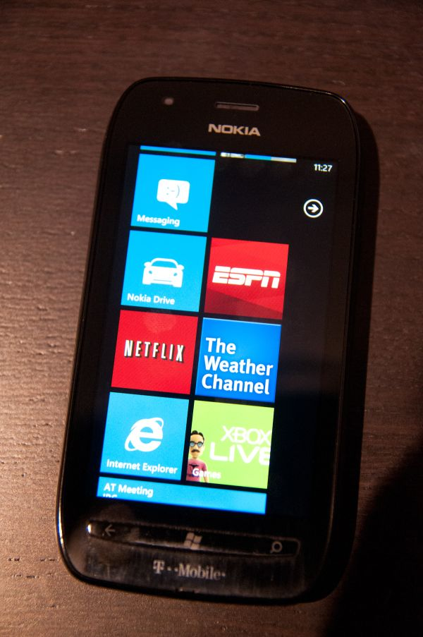 Lumia 710 Apps and Preload - Nokia Lumia 710 Review - T-Mobile's