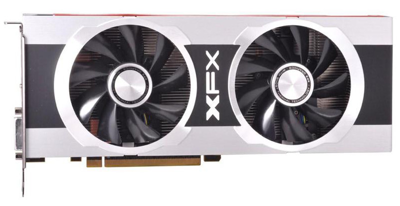 The test, power, temp, & noise xfx's radeon hd 7970 black.