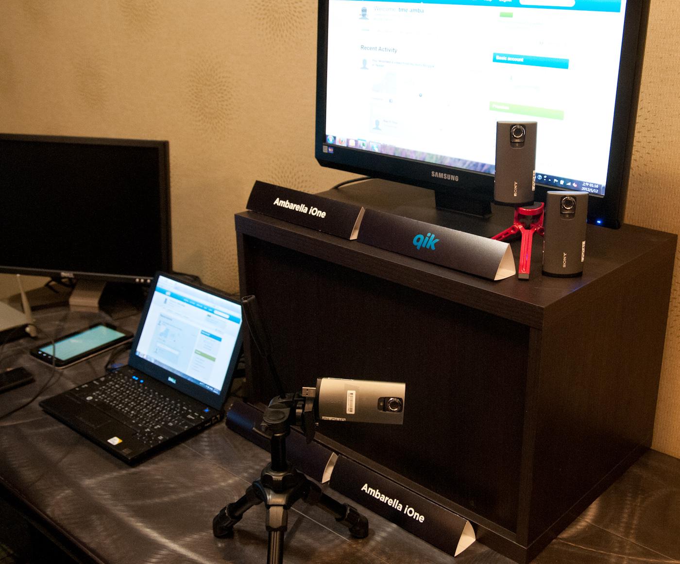 Ambarella Shows Off Ione Soc Applications Wireless Camera
