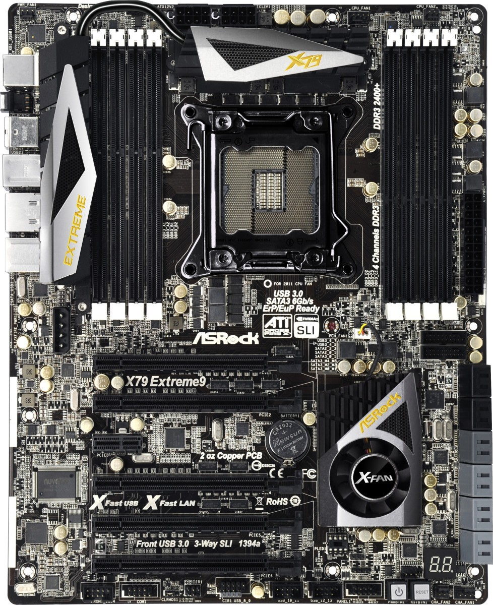 ASRock X79 Extreme9 Review - Price For Performance?