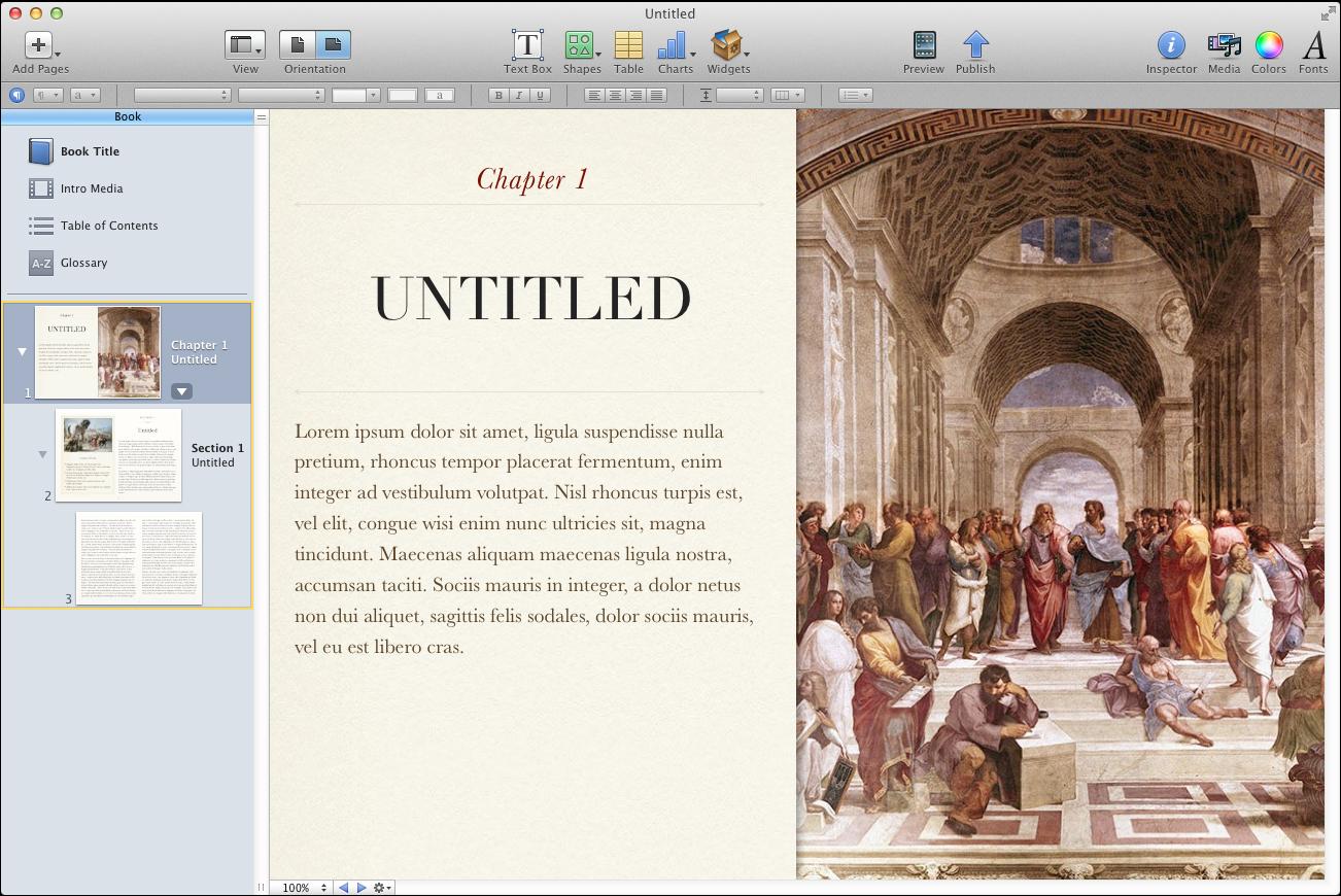 Apple Announces Digital Textbook Availability, iBooks Author App