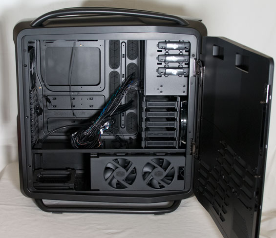 In And Around The Cooler Master Cosmos Ii Cooler Master