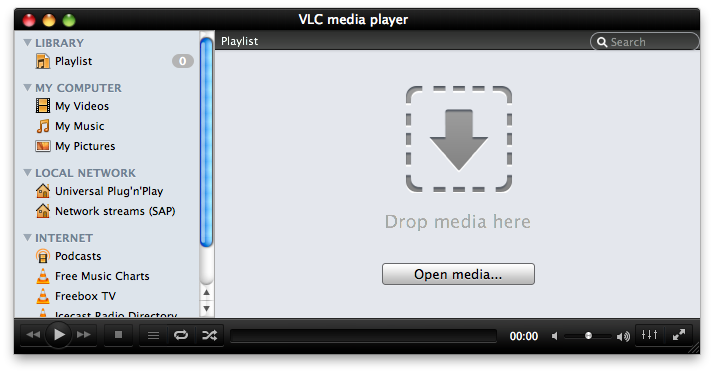 VLC 2 0 Announced: New UI and Blu-ray Support for OS X