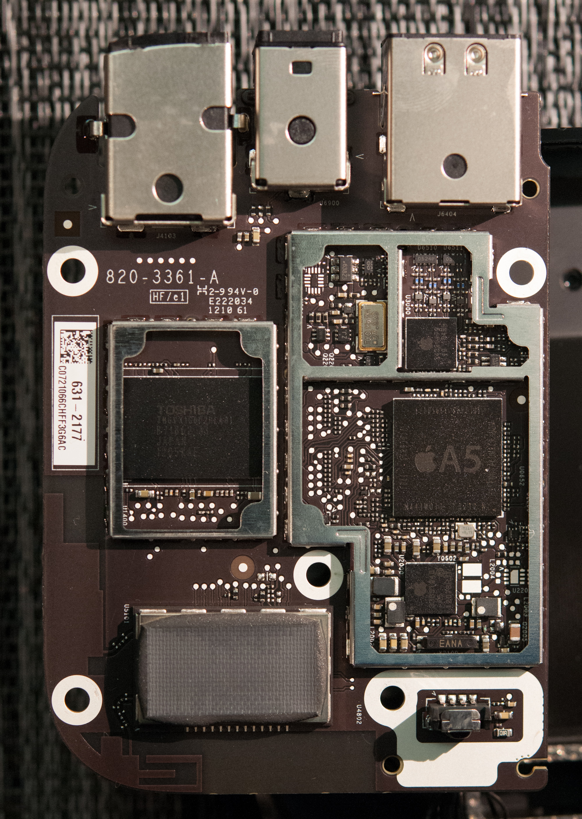 Inside Apple Tv 3 Single Core A5 Same Power Draw 2nd Try How To Find A Short Circuit In Macbook Logic Board 2012 Review 1080p And Better Wifi