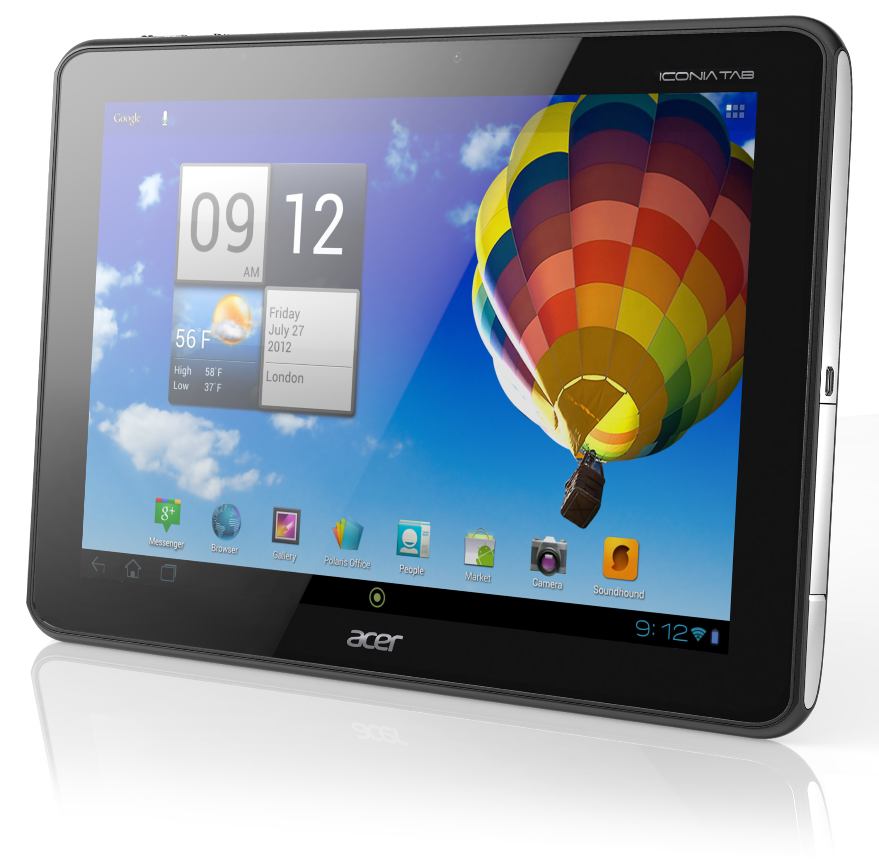 acer iconia tab a510 tegra 3 hits 450. Black Bedroom Furniture Sets. Home Design Ideas