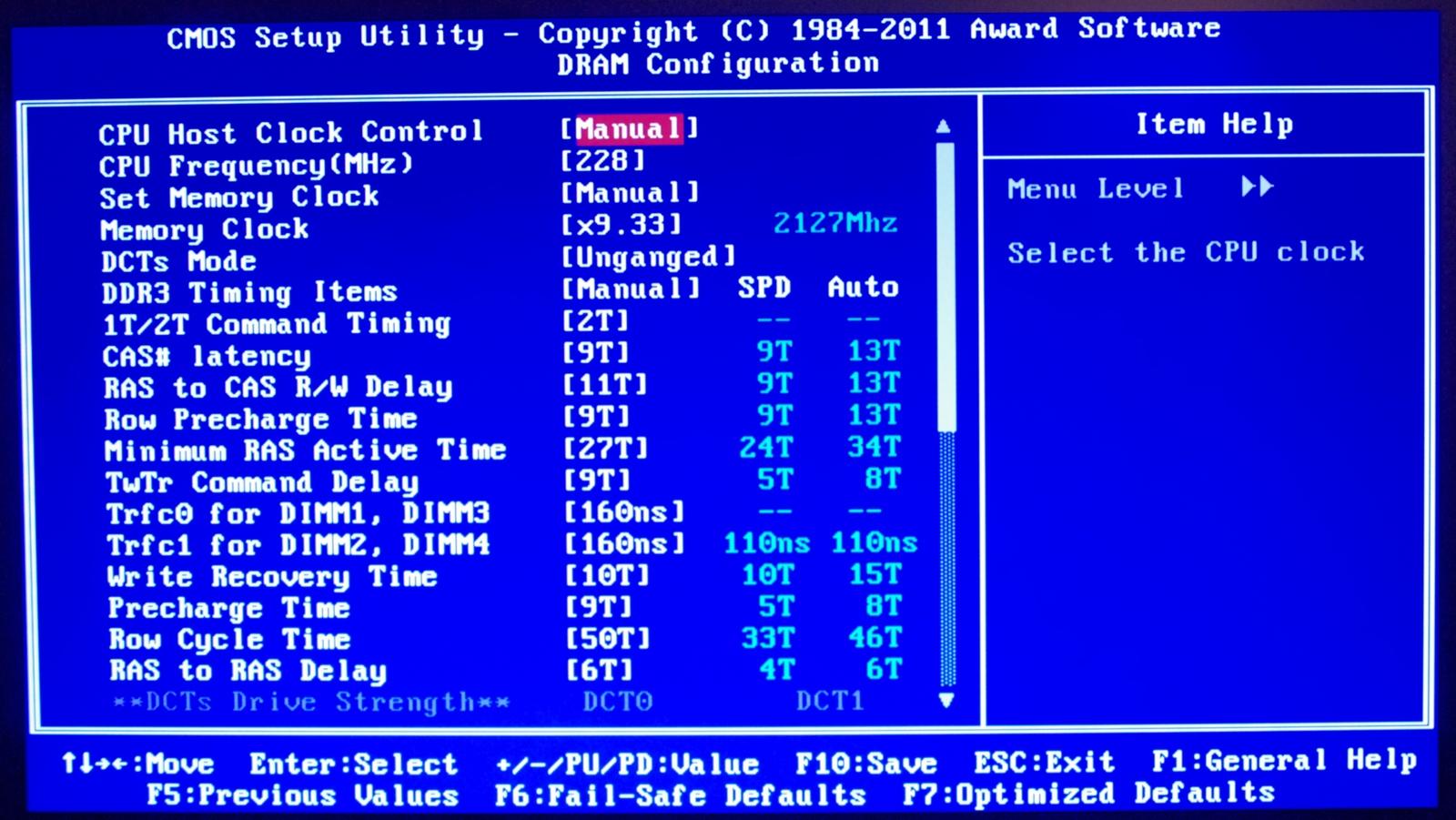 Gigabyte 990FXA-UD5 – BIOS and Overclocking - 990FX