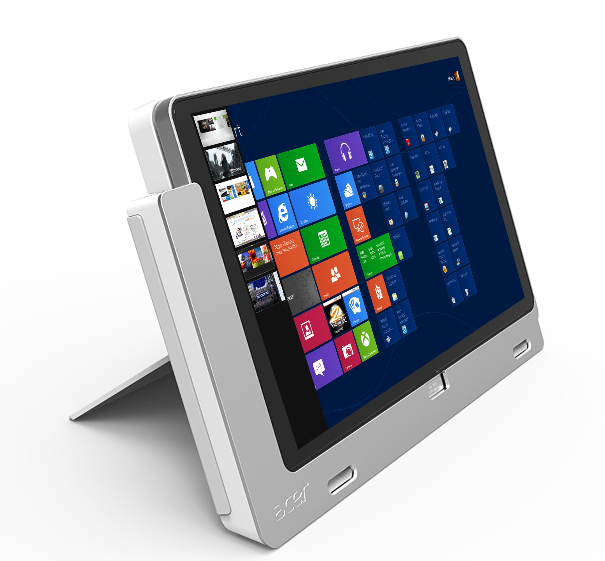 Acer Introduces Windows 8 Tablets with Docks: Iconia W510 ...