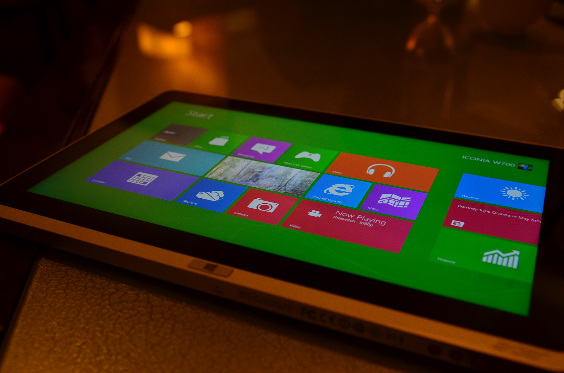 Acer's Iconia W700 Ivy Bridge Windows 8 Tablet: The Start of