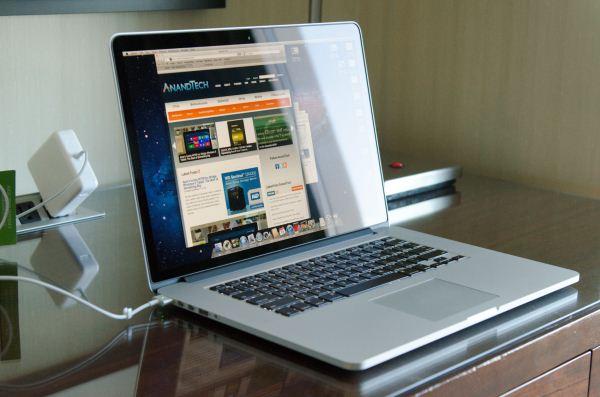 Macbook pro với độ phân giải lớn