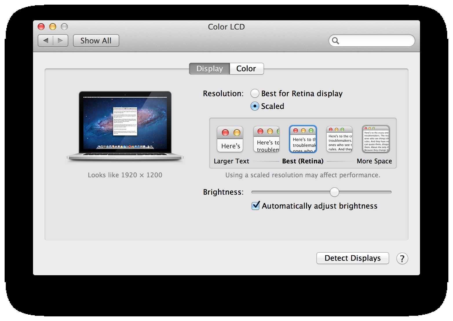 how to adjust pdf size mac
