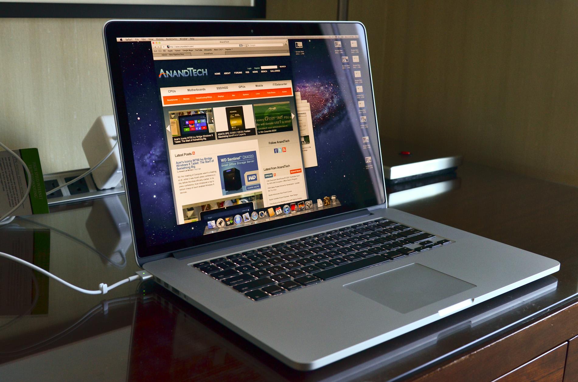 macbook pro có khả năng tản nhiệt tốt