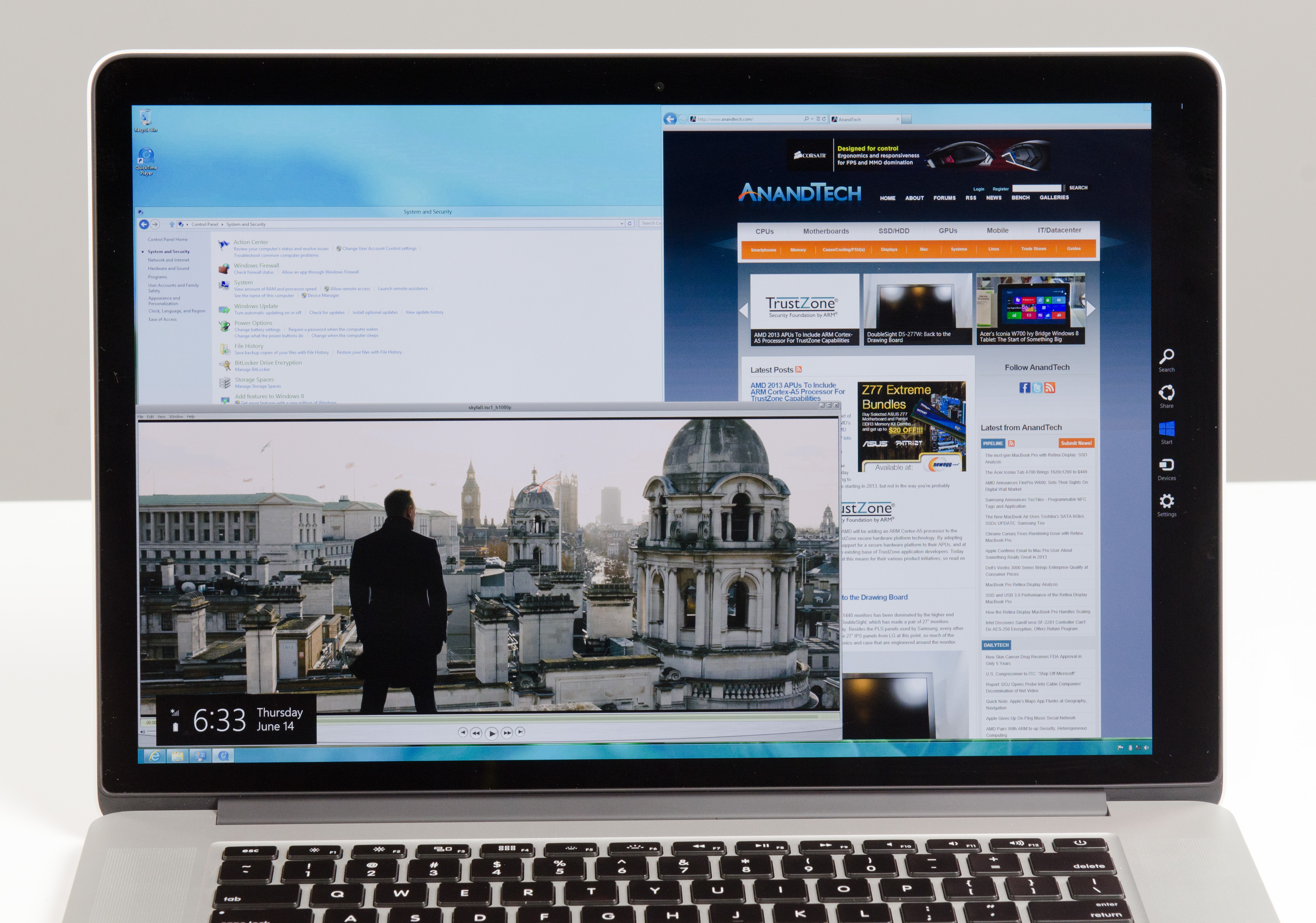 Windows 8 on the retina display macbook pro ccuart Image collections