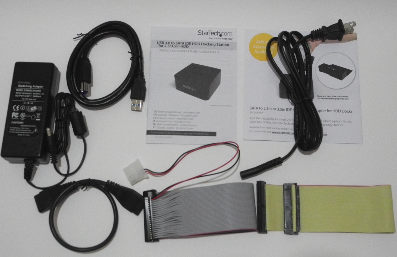 StarTech.com USB 3.0 to SATA IDE HDD Docking Station Review