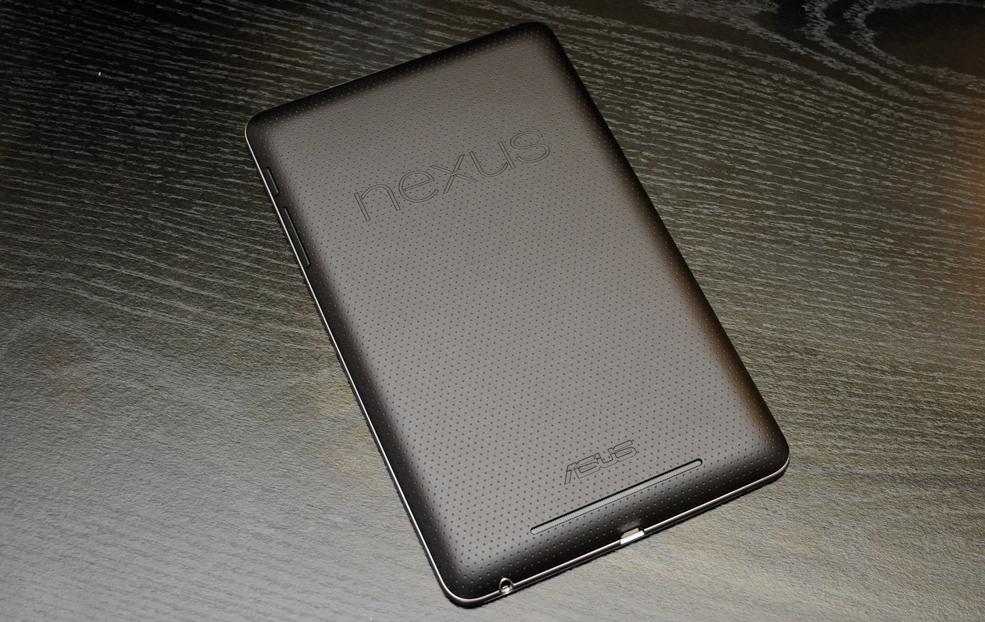 The Nexus 7 comes with Android 4.1 Jelly Bean installed, which we're