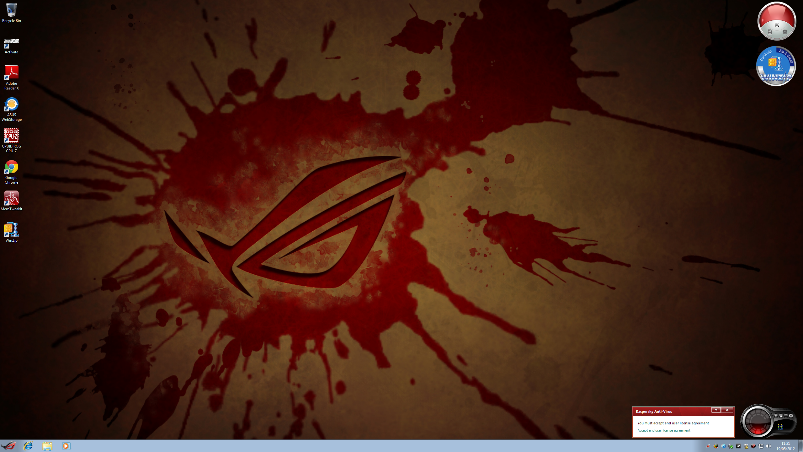 ROG Themes For Windows 7 These Include A Set Of Backgrounds Which In My Experience Work Well At 2560x1440 The Desktop Slideshow
