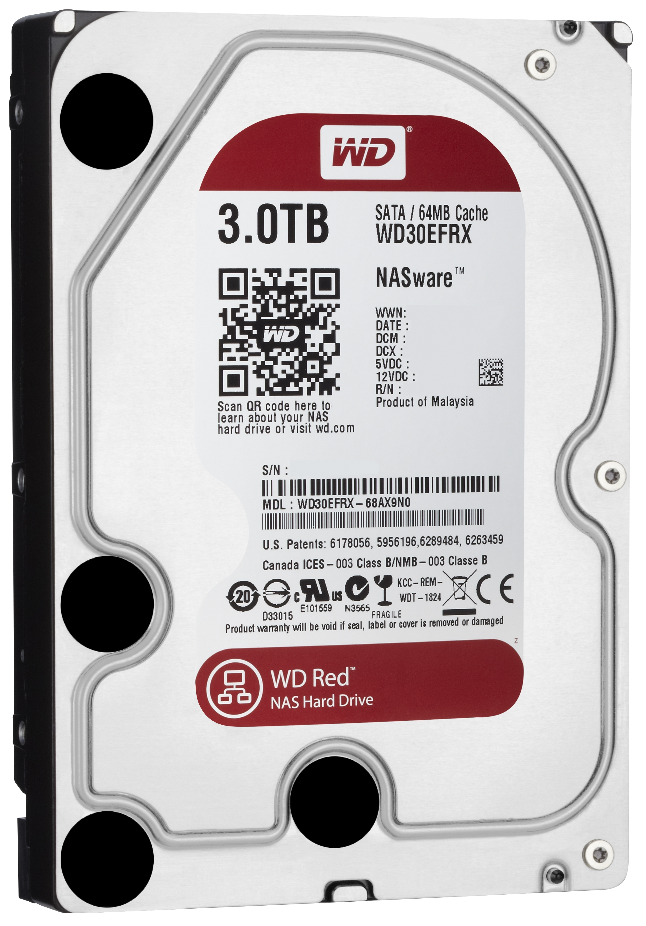 wd introduces red nas optimized hdd line. Black Bedroom Furniture Sets. Home Design Ideas