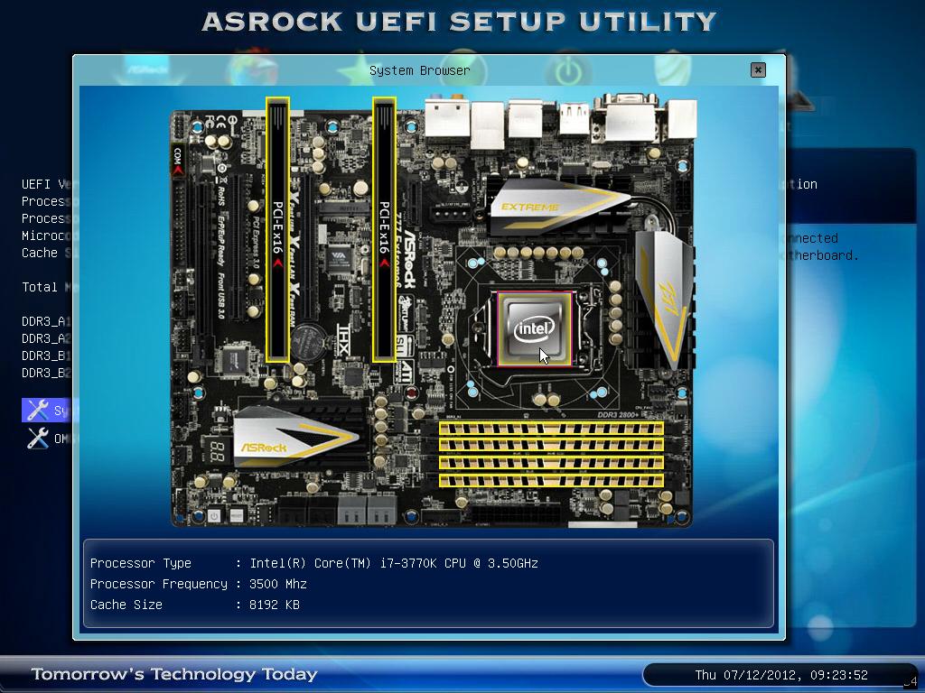 asrock z77 extreme6 bios アップデート