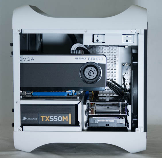 Build and Power Consumption - Origin Chronos Review: The Ultimate