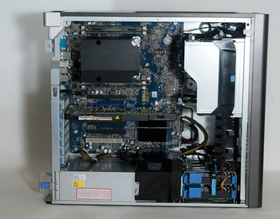 Build, Noise, Heat, and Power Consumption - Dell Precision