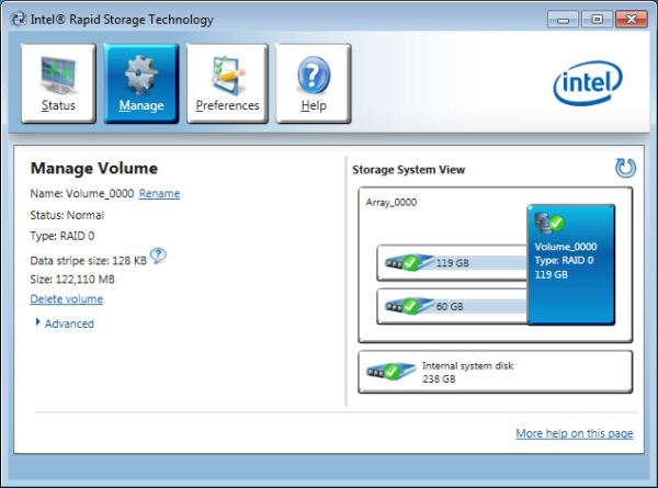 Intel Rapid Storage Technology Rst Drivers