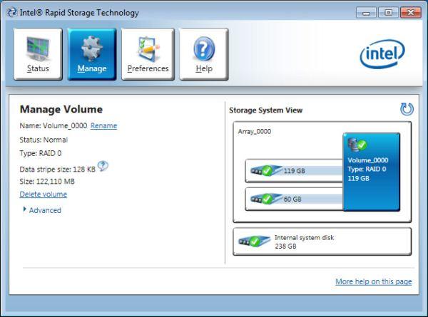 скачать intel rapid storage technology driver windows 7 x64 бесплатно