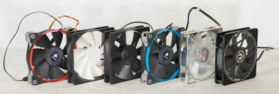 Choosing The Best 120mm Radiator Fan Testing Eight Fans With Corsair S H80